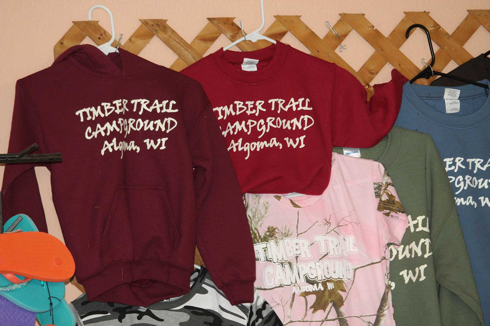 Timber Trail Campground rv sites